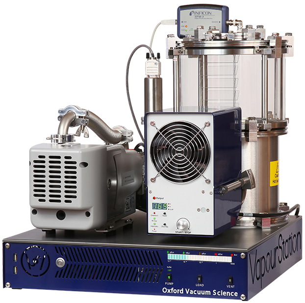 Bench-top thermal evaporators from Oxford Vacuum Science